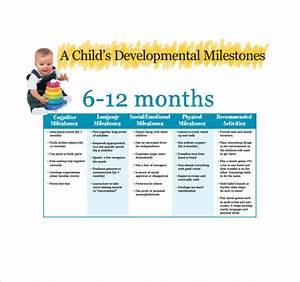 Free 7 Sample Baby Milestones Chart Templates In Pdf