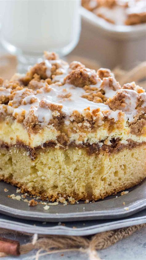 Coffee cake is any cake flavored with or intended to be eaten with coffee. Best Ever Coffee Cake Recipe - Sweet and Savory Meals