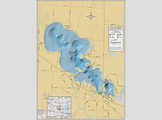 Lac La Belle & Fowler Lake Wall Map