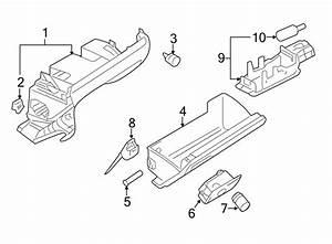 Volkswagen Jetta Gli Glove Box  Beige  Panel  Instrument