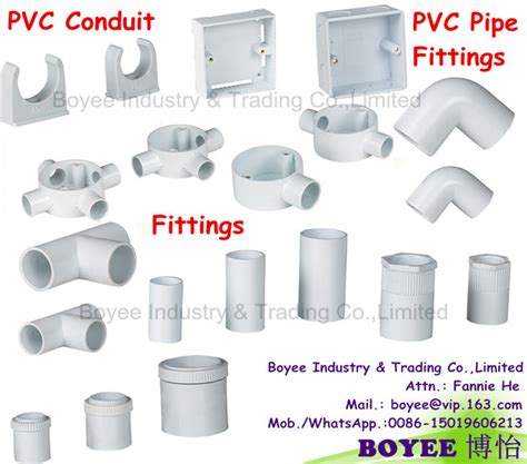 China Pvc Electrical Wiring Cable Protector Conduit Pipe