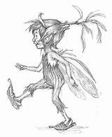 Pixies Fairy Drawings Cornish Dessin Fairies Pixie Piskies Sketch Mythical Sisters Tattoo Coloriage She Hilltop Tryst Discussion Thread Peri Supranatural sketch template