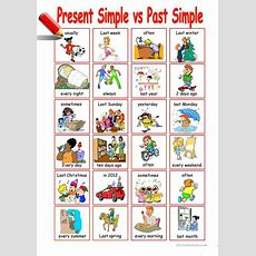 Present Simple Vs Past Simple Worksheet  Free Esl Printable Worksheets Made By Teachers