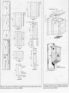 squirrel nesting box complete instructions dimensions birdhouses nesting boxes squirrel