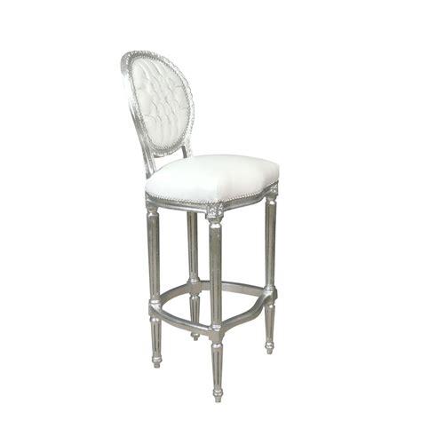 chaises baroque pas cher chaise baroque de bar blanche meuble baroque