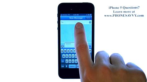 how to send a text on iphone apple iphone 5 ios 6 how do i send a text message