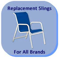 replacement slings and patio furniture parts in california