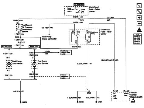 Chevy Silverado Fuel System Diagram Wiring Forums