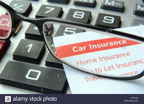 versicherung auto rechner assurance stockfotos assurance bilder alamy