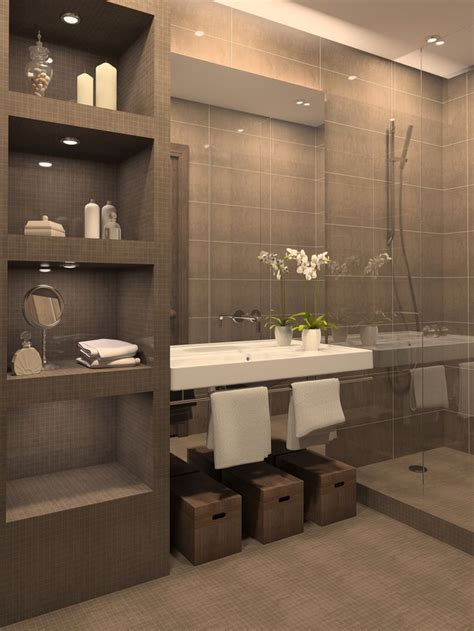 shelves in bathroom ideas open shelving for the bathroom the unity of form and function decozilla