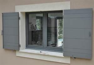 fenetre aluminium serie fino premium With fenetre et volet roulant aluminium