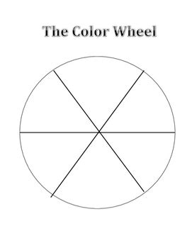 blank color wheel blank color wheel by kristin hartford teachers pay teachers