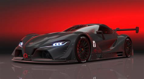 Toyota Ft-1 Concept Full Hd Wallpaper And Background
