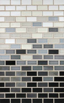 horizontal gradient contemporary bathroom tile