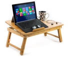 aleratec natural bamboo laptop cooling stand up to 15in