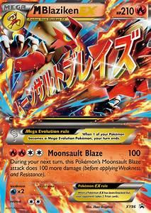 M Blaziken-EX (XY Promos XY86)