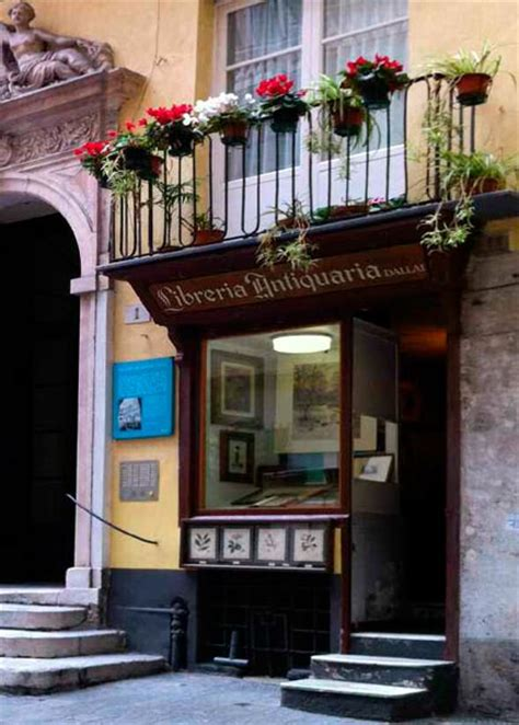 Librerie Antiquarie by Dallai Libreria Antiquaria Botteghe Storiche Di Genova