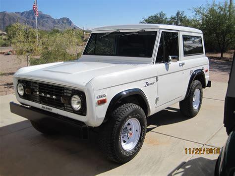 jeep bronco white classic 1970 ford bronco w o r t h y w h e e l s