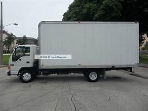 2003 Gmc    Isuzu W3500 18  U0026 39  Box Truck Diesel Florida