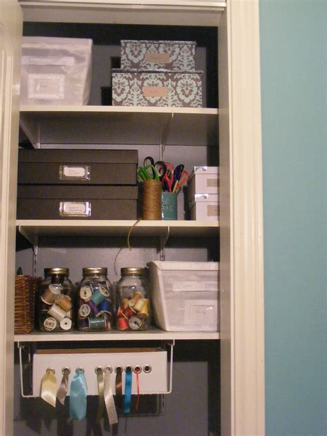 Organize Craft Closet by Organizedhome Day 30 My Craft Closet The Complete
