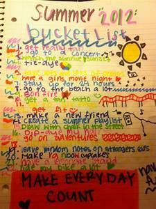ArrayO'Style!: Summer bucket list ideas 2013