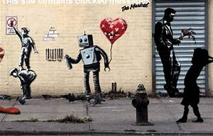 The Best Of Banksy Animated Into Incredible GIFs HuffPost