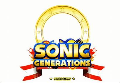 Sonic Colors Title Screens