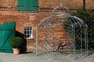 Pavillon Aus Metall : stabiler pavillon feuerverzinkt pergola zink 340cm gartenpavillon metall ~ Frokenaadalensverden.com Haus und Dekorationen