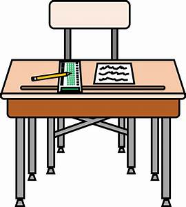 Desk Test Clipart - The Cliparts
