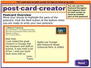 Postcard Creator - ReadWriteThink