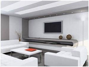 living room lcd tv wall unit design the interior design With living room interior designs tv unit
