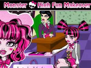 Monster High Fun Makeover Game
