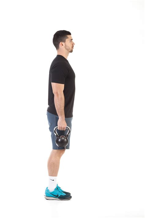 kettlebell exercise lunge reverse workout leg legs muscles workouts primary fitness glutes gym upper equipment male description