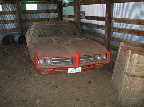 Found In Barn by 1969 Pontiac Gto Judge Found In Barn High Performance