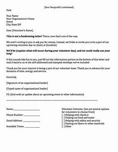 fundraising letters how to craft a great fundraising appeal With how to write a letter asking for volunteer work