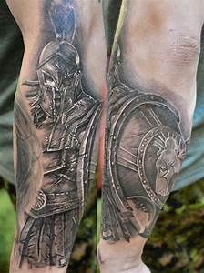 Gladiator tattoo by Elvin Yong - TattooMagz