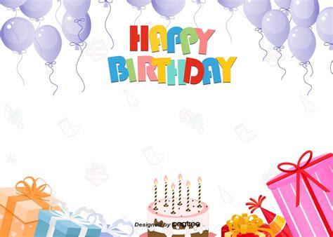Happy Birthday Background by Happy Birthday Background For Colorful Colour