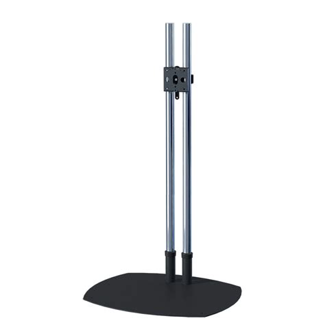 72 inch floor l premier mounts 72 inch chrome low profile floor stand psd ts72