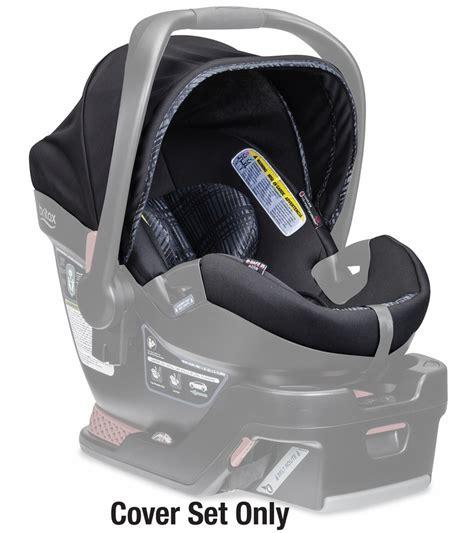 britax  safe  elite infant car seat cover set domino