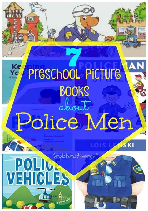 preschool helpers simple home blessings 384 | Preschool Picture Books to read as part of a community helpers unit on Police Men