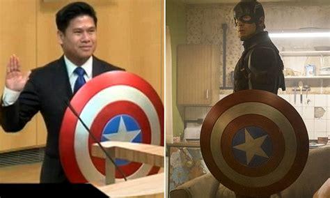 Avengers Assemble! California Councilman Takes Oath Of
