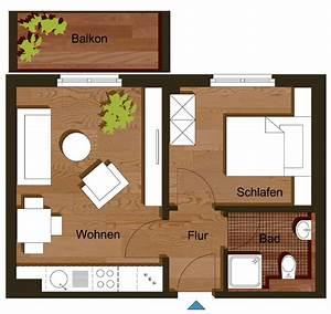 35 Qm Wohnung Einrichten : grundriss zweizimmerwohnung 35 m haus pinterest grundrisse einzimmerwohnung und wohnung ~ Markanthonyermac.com Haus und Dekorationen