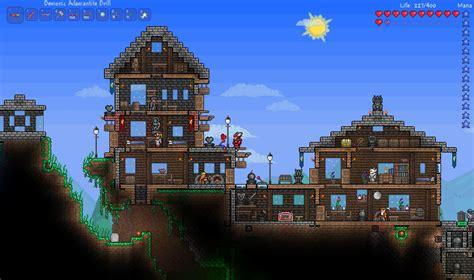 terraria cool house designs
