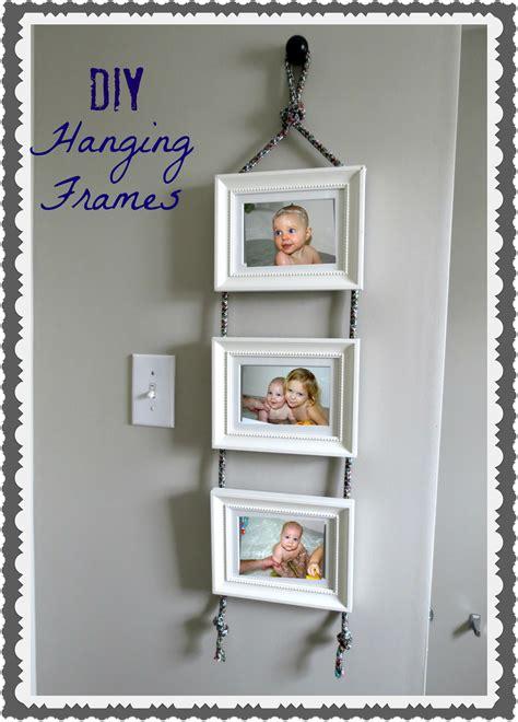 diy hanging frames tutorial tatertots  jello