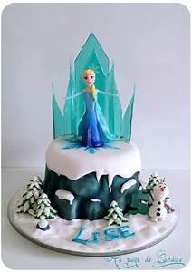 Gâteau Reine Des Neiges : g teau reine des neiges tutoriel frozen cake tutorial ~ Farleysfitness.com Idées de Décoration