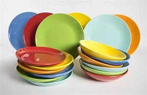 Beautiful Servizio Piatti Colorati Cucina Photos Home