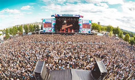 wireless festival       revealed