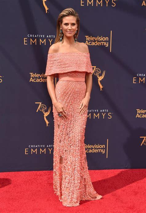 Heidi Klum Creative Arts Emmy Awards