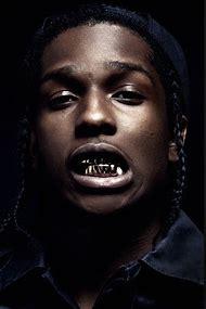 ASAP Rocky Gold Teeth