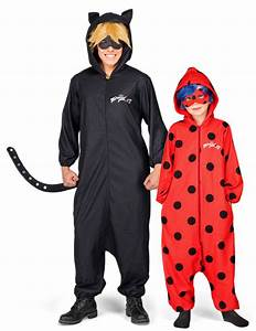 Deguisement Chat Fille : d guisement de couple ladybug et chat noir miraculous p re et fille deguise toi achat de ~ Preciouscoupons.com Idées de Décoration